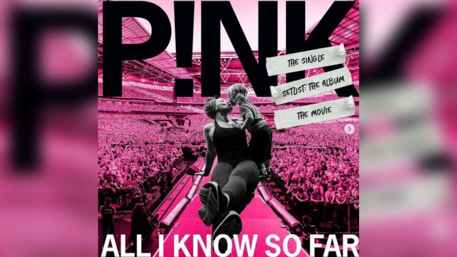 """Pink lanza su nuevo sencillo """"All I Know So Far"""""""