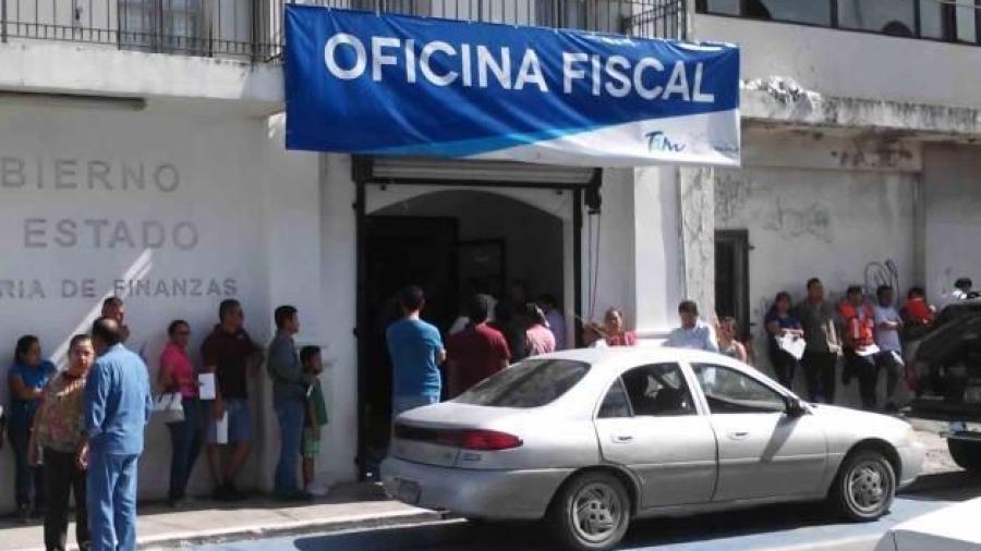 Trabajarán en horario normal empleados de la oficina fiscal