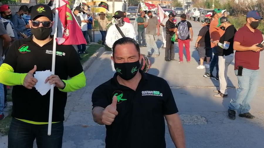 La Narciso Mendoza votará por Gustavo Rico