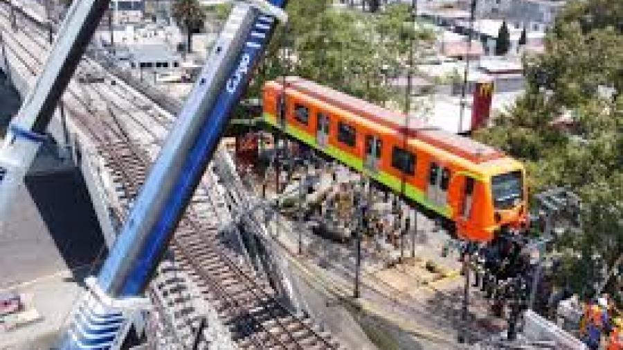 Juez desecha demanda de indemnización a víctimas de la Línea 12 del Metro