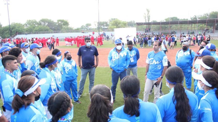 Softbol de Tamaulipas gana plata y bronce en Nacionales CONADE 2021
