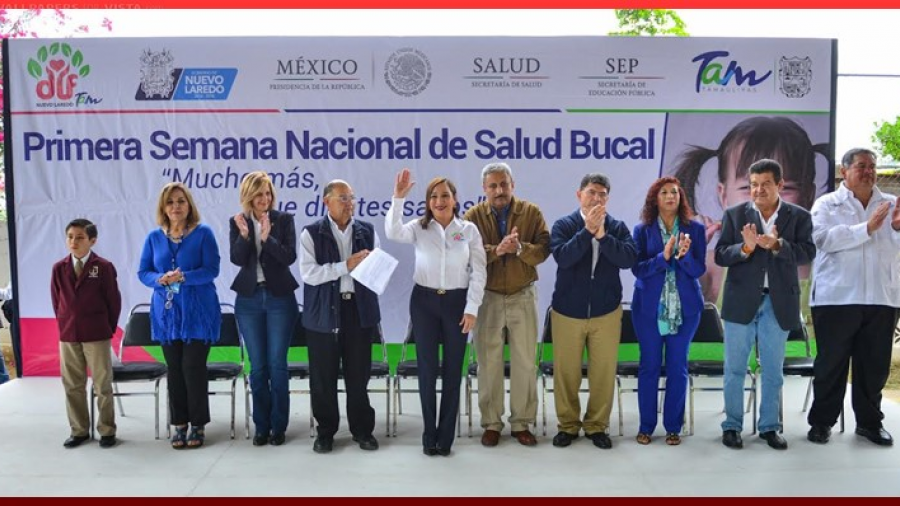 Cumplimos la meta en salud bucal: María Barquín