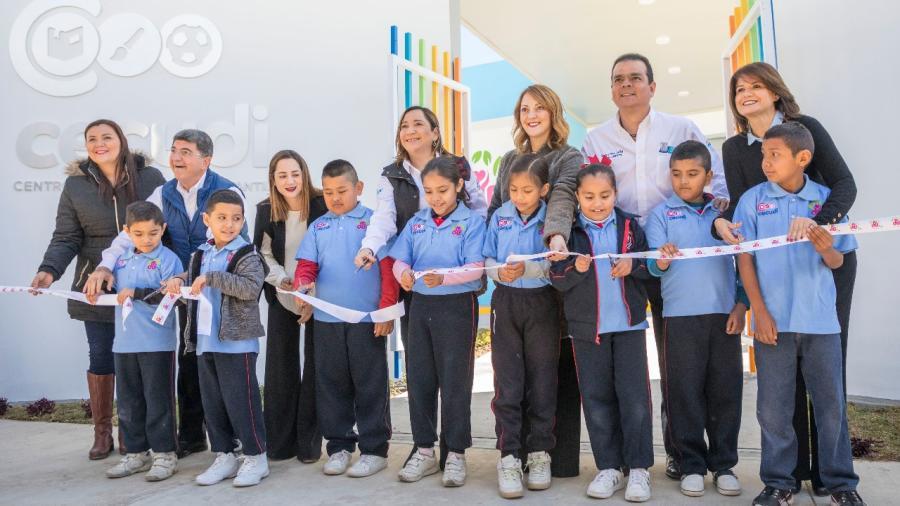 Inaugura Mariana Gómez Octavo Centro Cuidado Diario Infantil en Tamaulipas