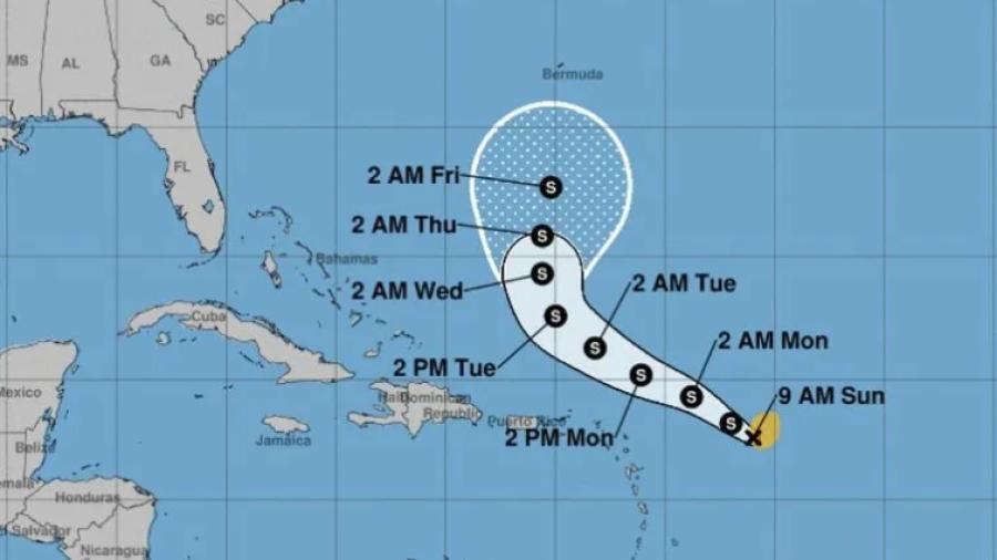 """Se forma Tormenta Tropical """"Peter"""" cerca de Puerto Rico"""