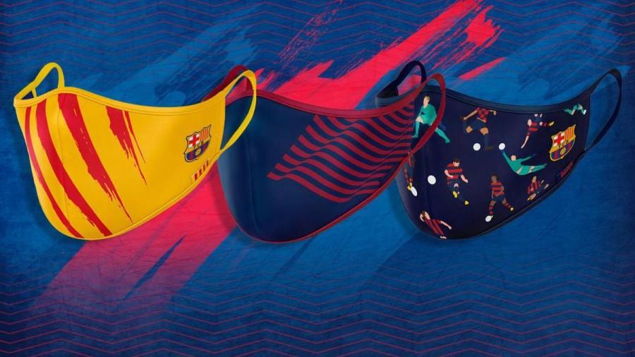El  FC Barcelona pone a la venta sus primeras mascarillas protectoras