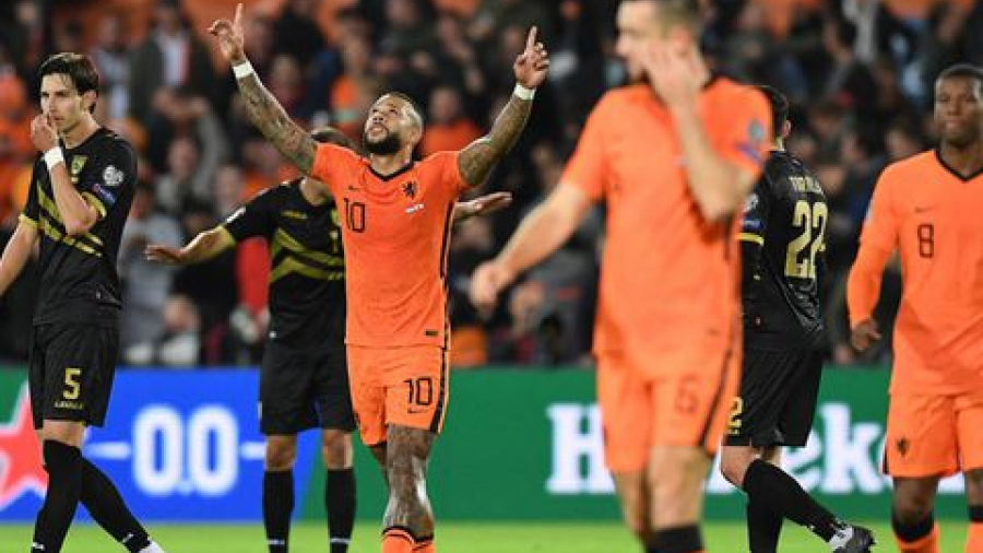 Pese a goleada, Holanda aún no logra clasificarse para Qatar 2022