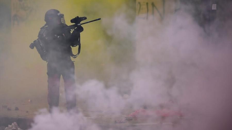 Protestas en Colombia dejan tres personas muertas