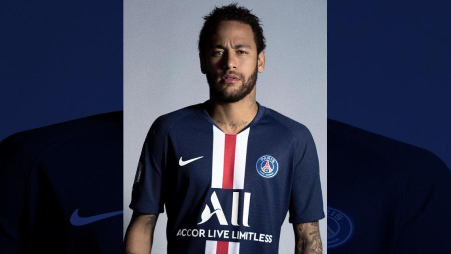 PSG presentó su nueva camiseta con Neymar