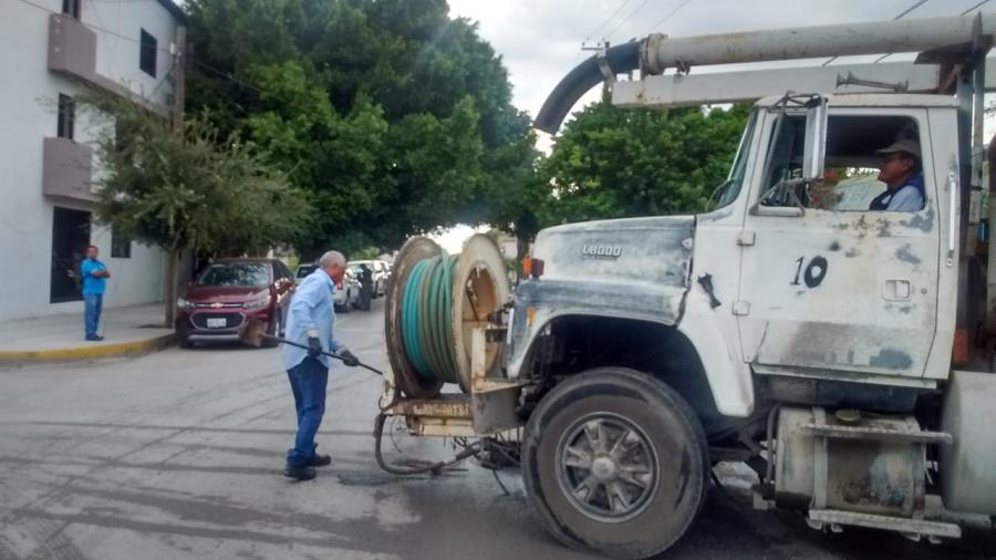 Atención efectiva de COMAPA a líneas de drenaje