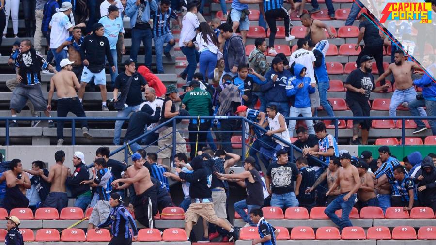 Estadio de San Luis podría ser vetado por violencia