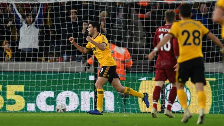 Wolverhampton elimina al Liverpool de la FA Cup