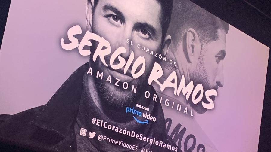 Así fue  la presentación del documental de 'El corazón de Sergio Ramos'