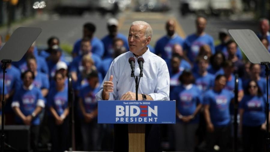 Joe Biden llama a la unidad en arranque de campaña