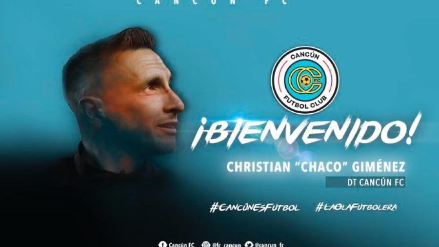 ''Chaco'' Giménez, nuevo técnico del Cancún FC