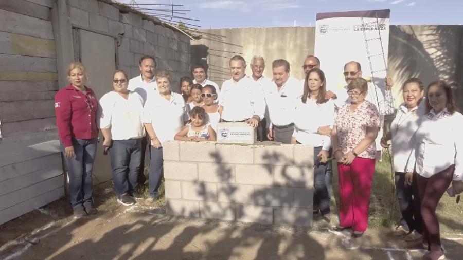 Inicia construcción de viviendas en colonia Adriana González