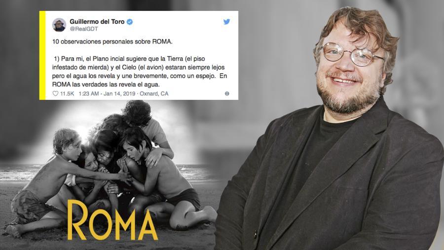Los 10 puntos para entender Roma según Guillermo del Toro
