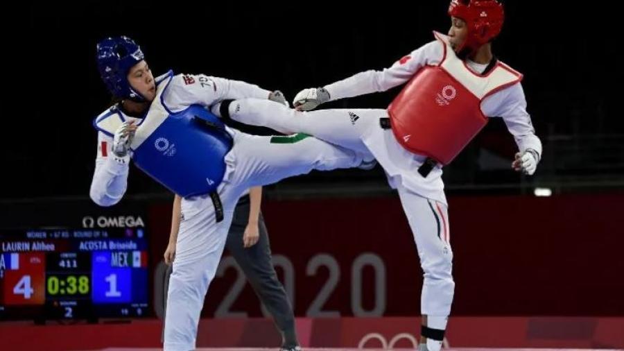 Taekwondo mexicano se queda sin medallas en Tokio 2020