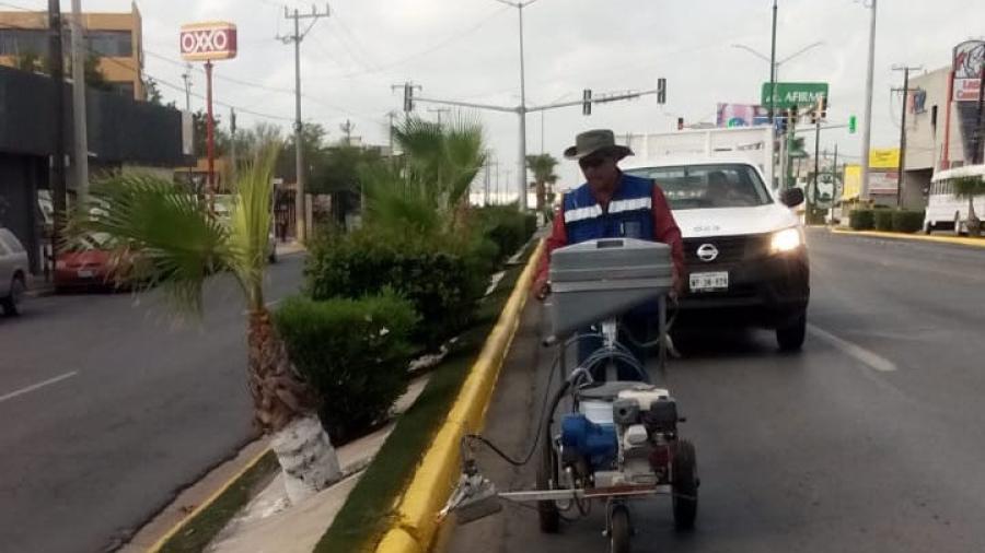 Pide precaución PCyB por repintado en bulevar Morelos