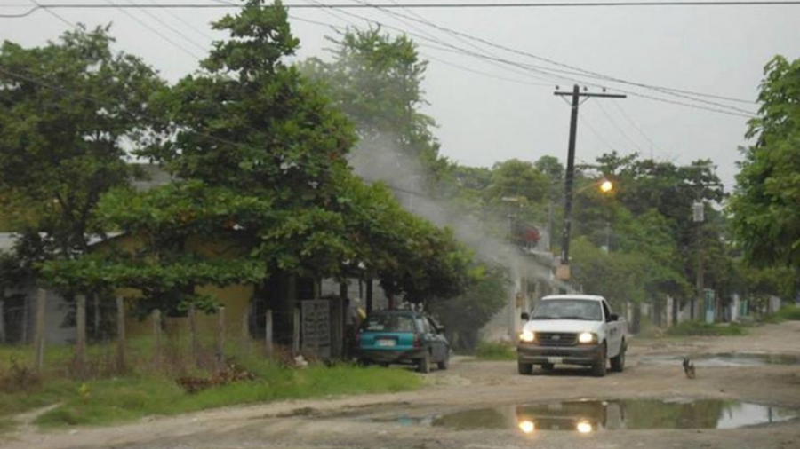Registra Matamoros poco avance en cuanto a fumigación contra los mosquitos
