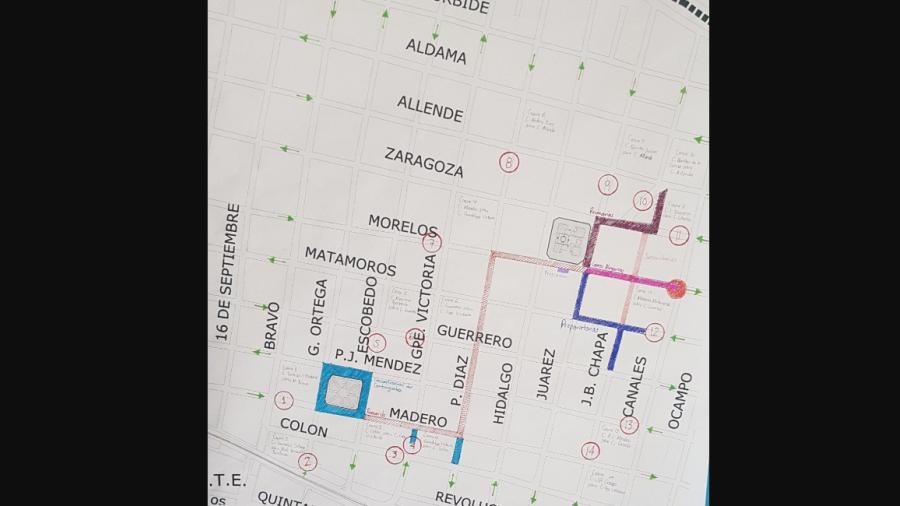 Aviso de cierre a la circulación vehicular por Desfile del Día de la Independencia