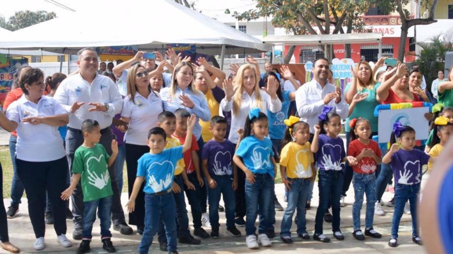 Pone en marcha Alma Laura Amparán actividades de Marzo, mes de la Educación Especial