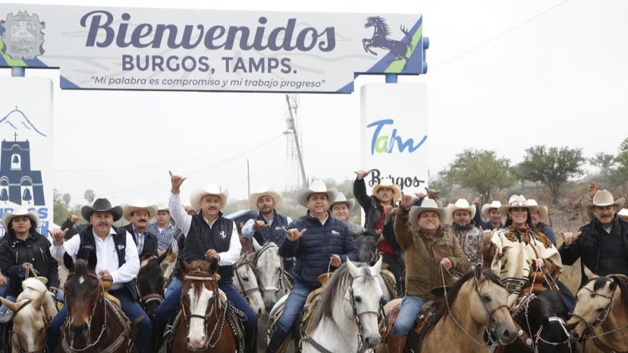 Gobernador entrega Parque de Bienestar en Burgos