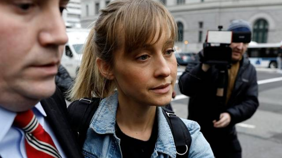 Allison Mack se declara culpable
