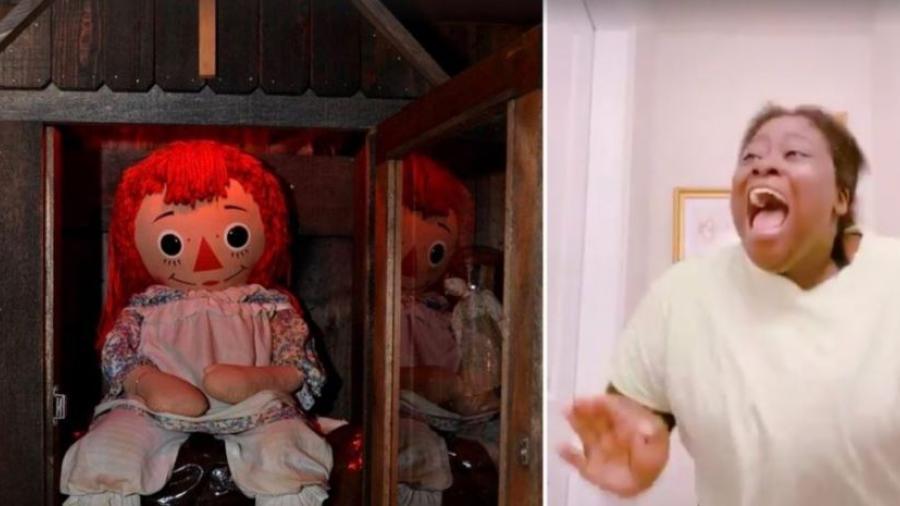 ¿Se escapó Annabelle? Redes sociales responden con memes
