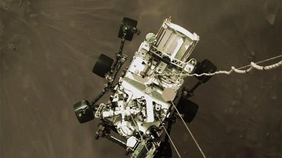 NASA comparte primera imagen del Perseverance en Marte