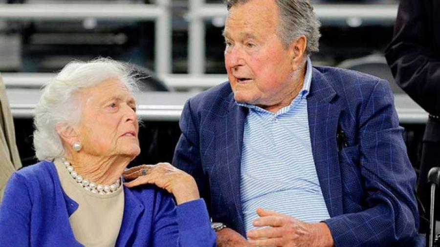 Barbara Bush grave, ya no recibirá atención médica: portavoz