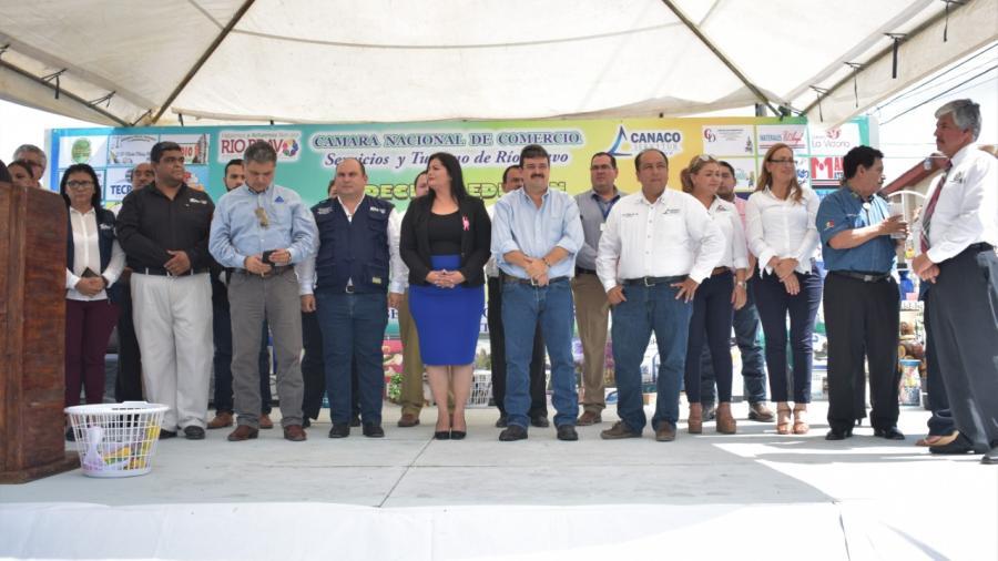 Festejan el Día del Comerciante en Río Bravo