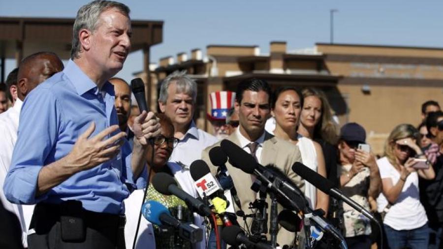 Alcalde de NY acusado de cruzar frontera con México sin permiso