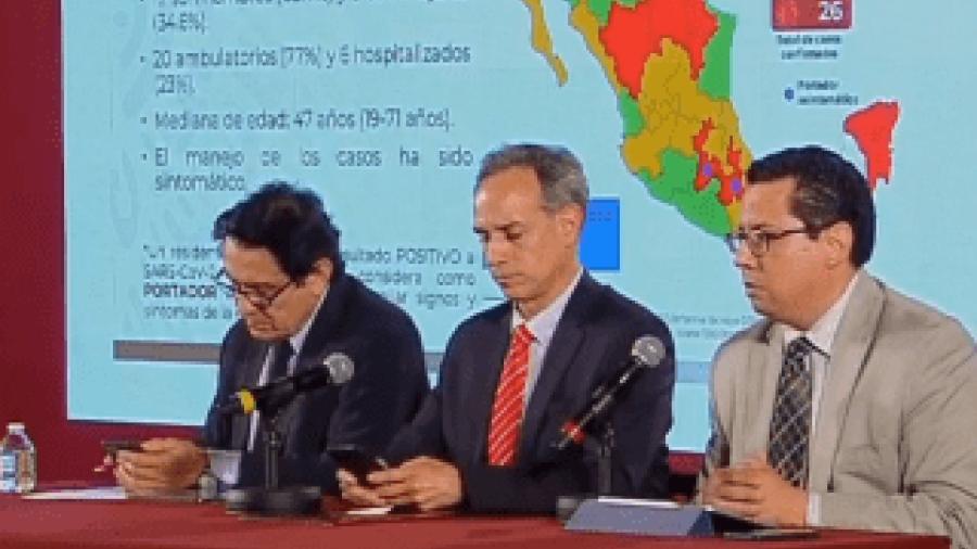 Suman 26 casos de coronavirus en México