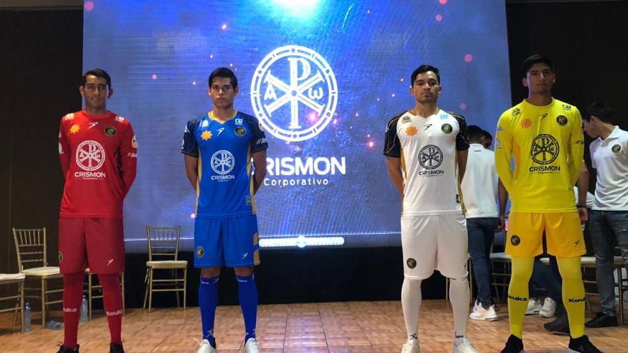 Presentan la nueva armadura de Gavilanes FC