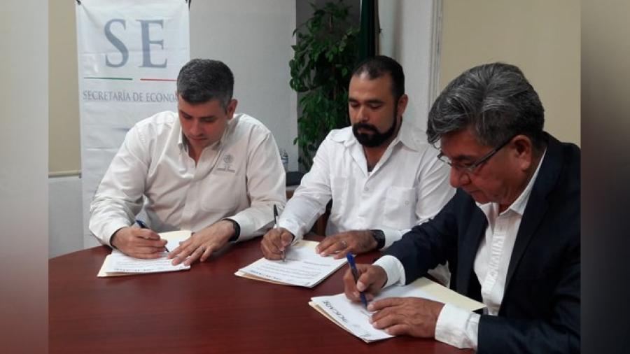 Celebran convenio de colaboración entre SE de Reynosa y Cicade