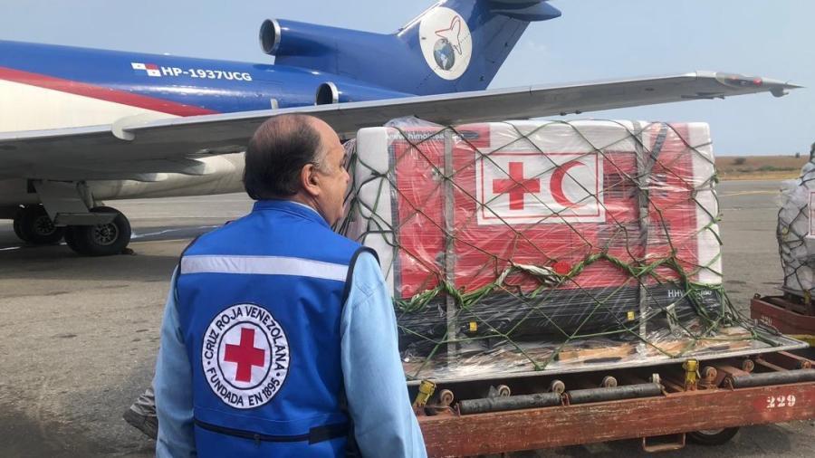 Llega primer cargamento de ayuda humanitaria a Venezuela