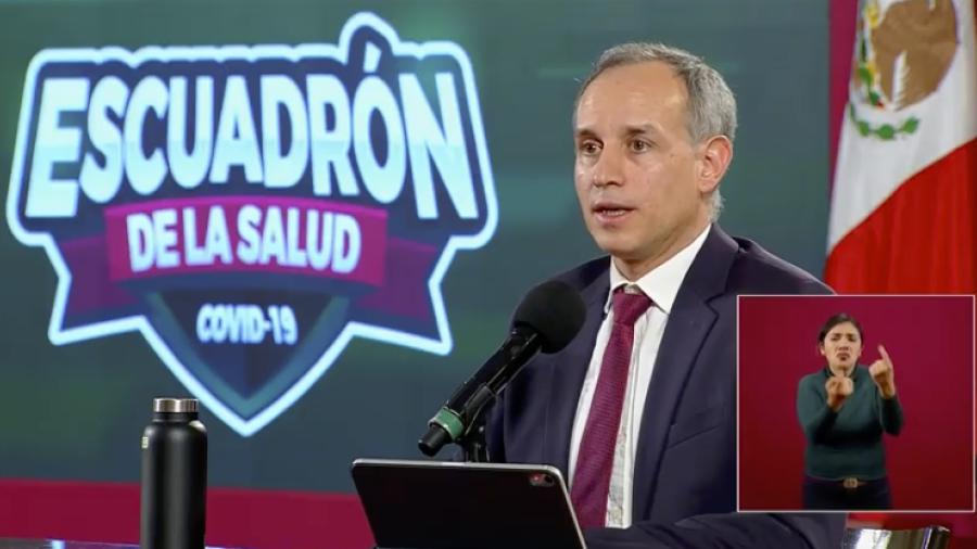 México suma 268 mil casos de COVID-19