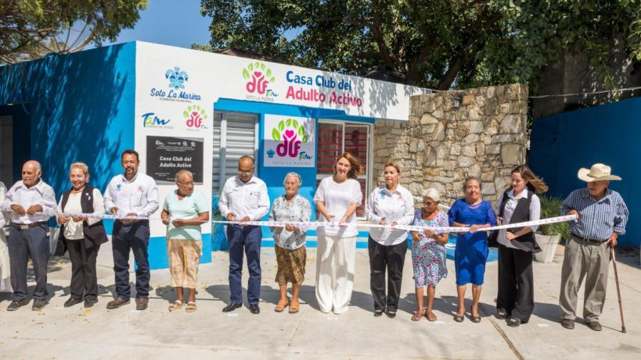 Garantiza DIF Tamaulipas espacios seguros para recreación de adultos mayores