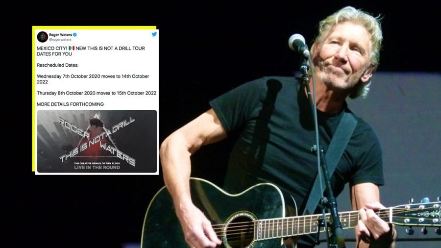 Roger Waters anuncia nuevas fechas en México para el 2022