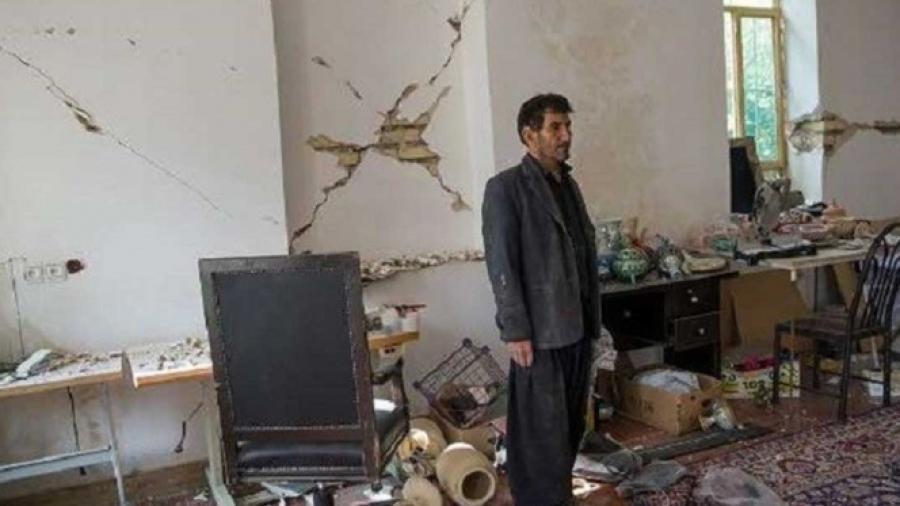 Sismo de 5.2 sacude Irán y deja 5 heridos