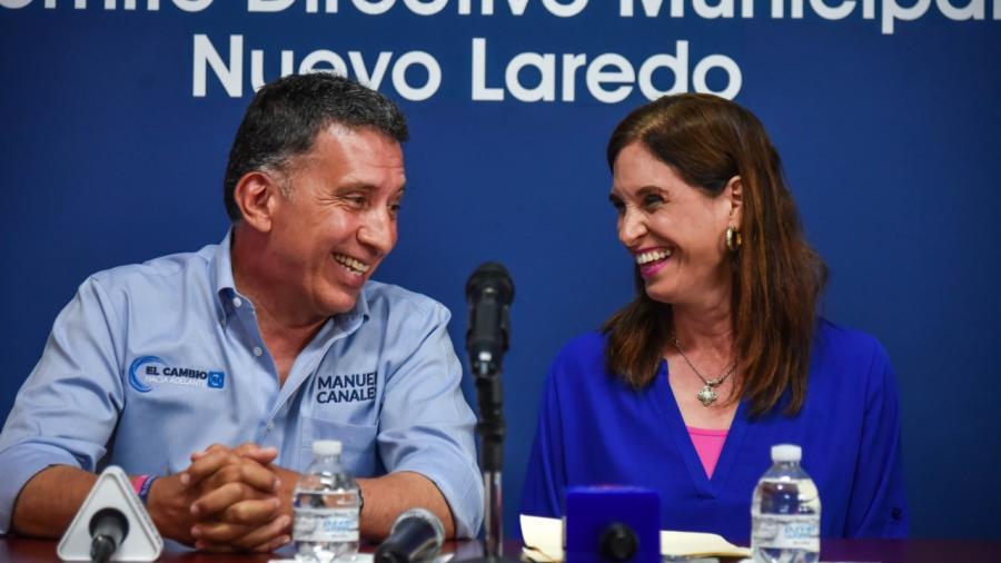 Se suma Blanca Padilla a campaña de Manuel Canales