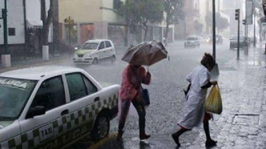 Prevén lluvias puntuales intensas en varios estados del país