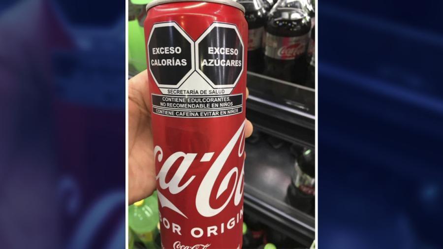 Así el nuevo etiquetado de Coca-Cola