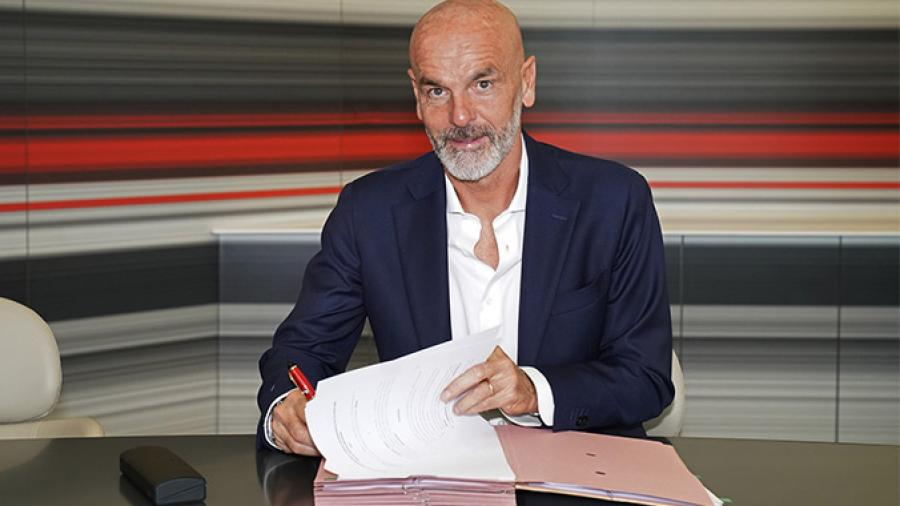 Stefano Pioli, nuevo entrenador del AC Milan