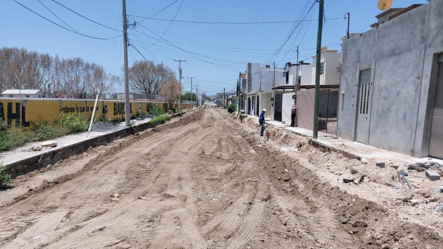 Avanza pavimentación en Fuentes Coloniales: Alcaldesa Maki Ortiz