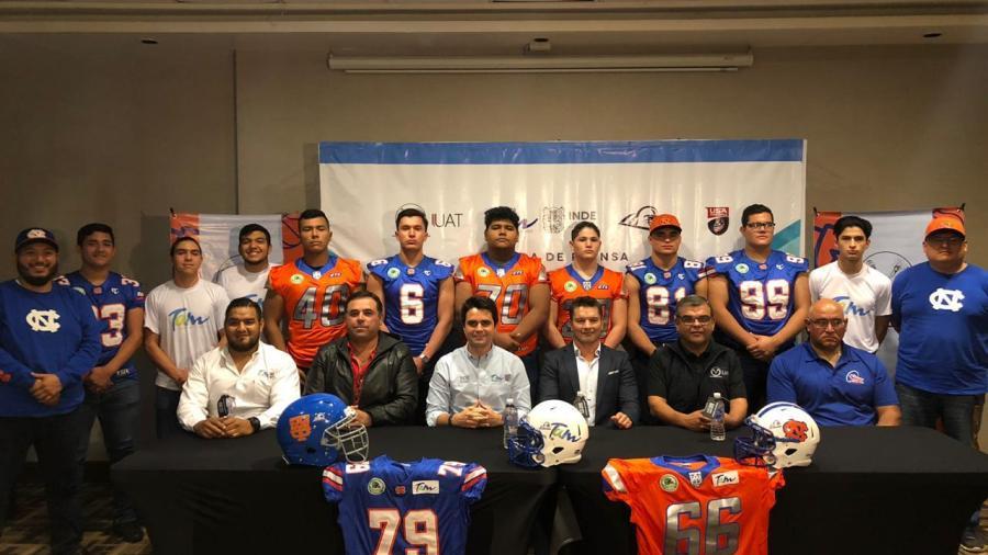 Oficializan participación de Tamaulipas en International Bowl