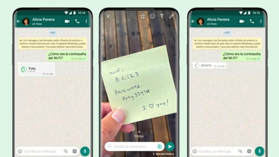 Anuncia WhatsApp función para que fotos y vídeos desaparezcan tras ser vistos
