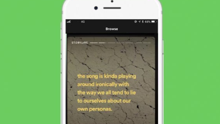 Spotify lanzará historias al estilo de Instagram para los artistas