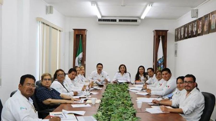Realizan reunión con la coordinadora Leticia Muñoz Arrieta