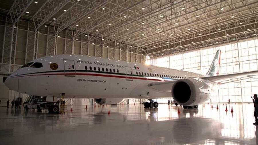 Avión presidencial ya en trámites de venta